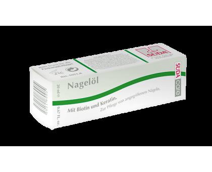 Масло с кератином для сухих и ломких ногтей Nagelol 20 мл.